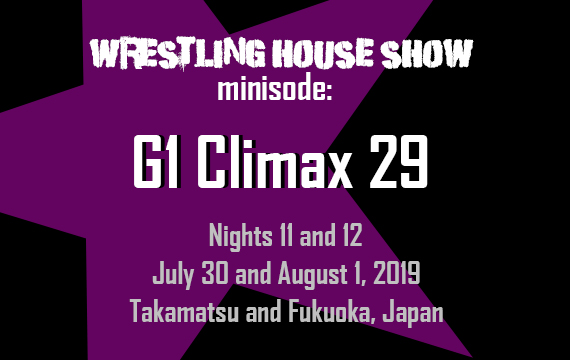 WHS mini – G1 Climax 29 Nights 11 and 12