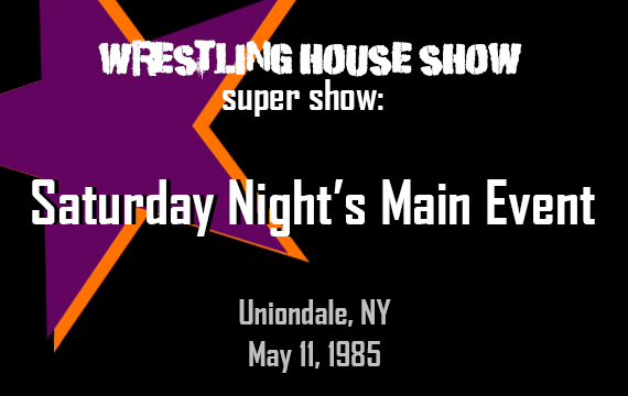 WHS Super Show – Saturday Night's Main Event Episode 1