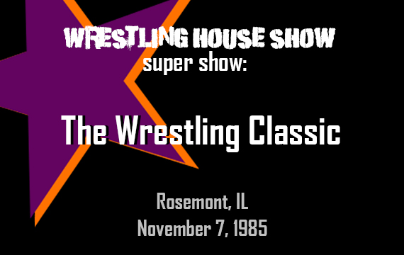 WHS Super Show – The Wrestling Classic