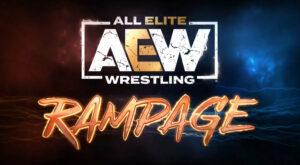 AEW Rampage Title Screen