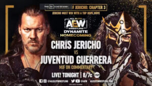 Chris Jericho vs Juventud Guerrera AEW